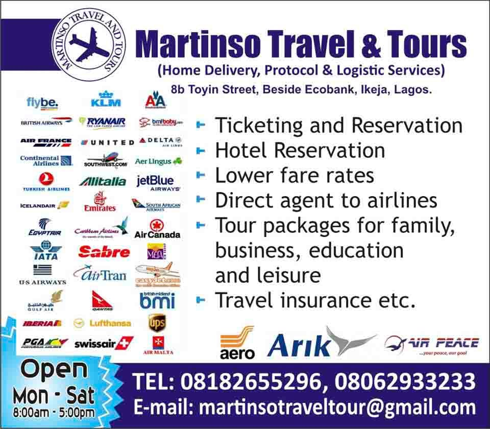 Martinso Travel and Tours